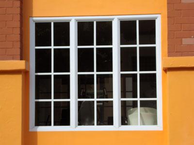 3 panel window small casement window 3 full panels code saw005 active aluminium