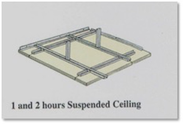 5_1 and 2 Hours Suspended Ceiling
